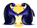 Loving Penguin Logo - Login