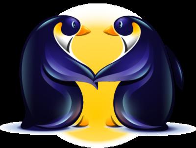 Loving Penguin Logo - Login